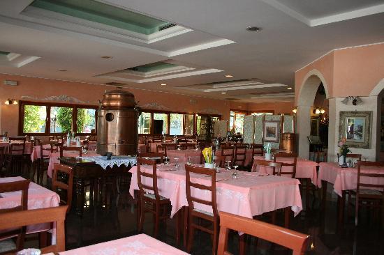 sala del ristorante al Campiello