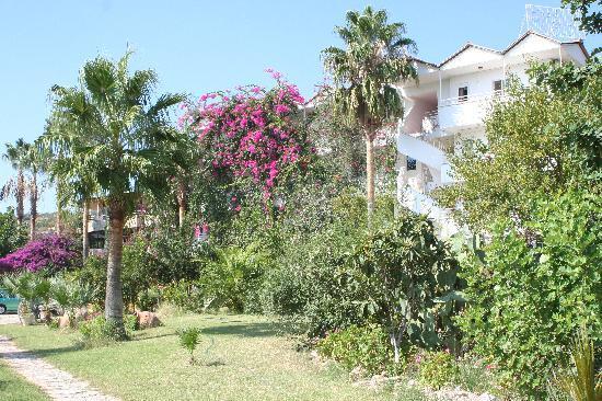 Gelemis, Turkey: das Hotel von außen