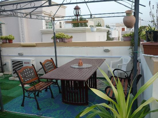 Nomad Guest House: On the rooftop