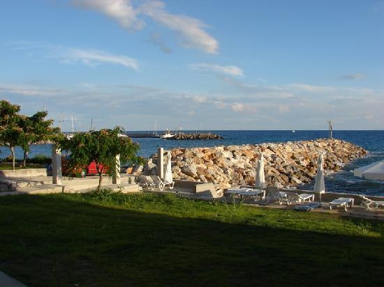 Pansion Alexandros: The beach