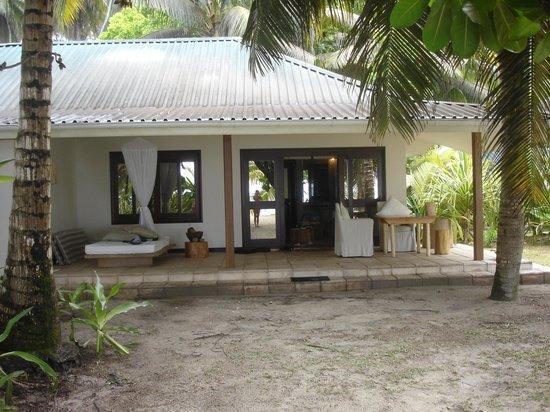 Desroches Island, Seychelles: esterno della suite