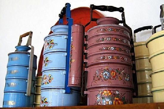 พิพิธภัณฑ์ปีนังเปรานากัน: 往年のキュートなランチボックス
