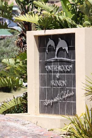 Brenton On The Rocks Guesthouse: Entrance