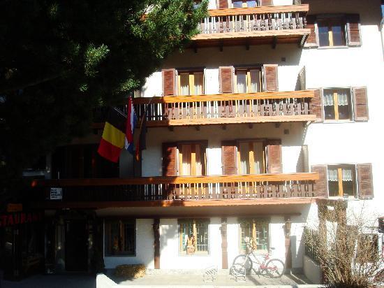 Graechen, Switzerland: L'hôtel