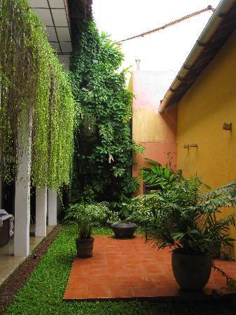 the courtyard itself