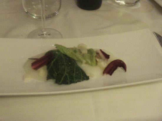 All'Antico Girone: My Starter, main course was not much bigger !