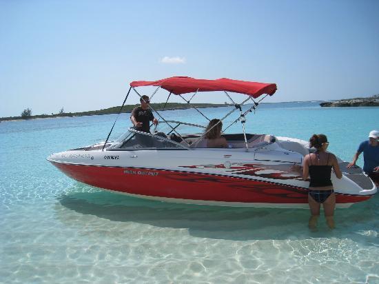 Paradise Bay Bahamas: excursion en bateau sur ile déserte