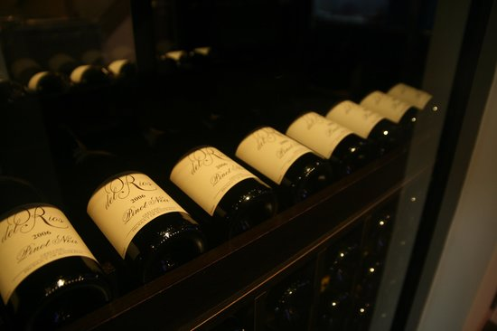 Peninsula Hampton: ...we offer a large selection of fine wines...