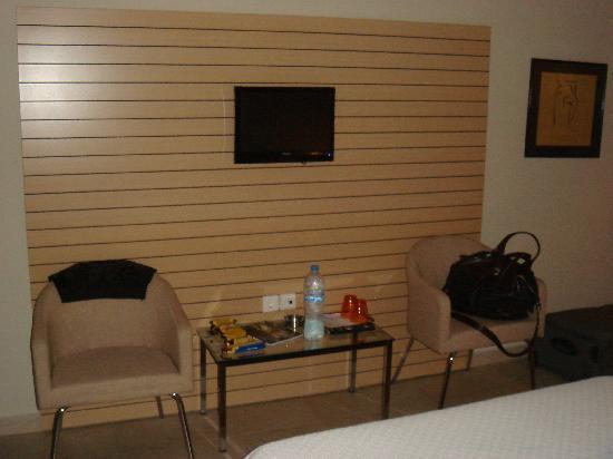 Hotel Astoria: the room