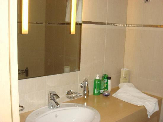 Hotel Astoria : the bathroom