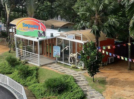 Gogreen Segway Eco Adventure : Segway Hub located at Beach Station, Sentosa