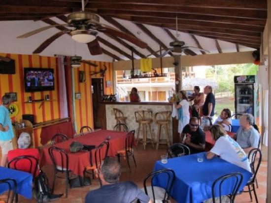 Puerto Carrillo Hotel: Restaurant