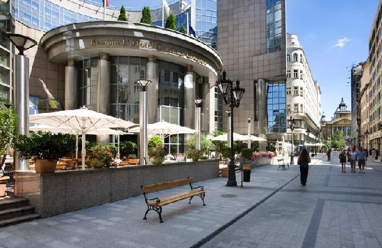 Kempinski Hotel Corvinus Budapest - Exterior /Terrace