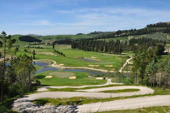 Golf Club Castelfalfi: veduta golf