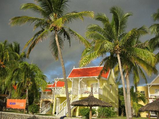 Villas Caroline: Camere viste dalla spiaggia