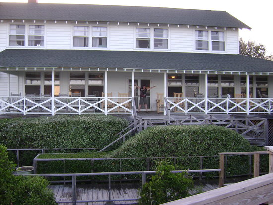 Sea View Inn: Deck View