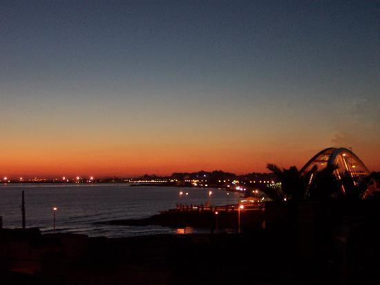 Mazara del Vallo, Italia: tramonto sul porto