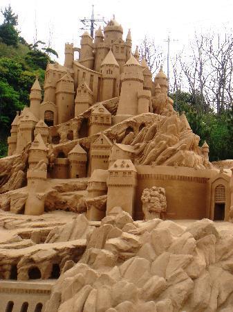 鳥取砂丘, 砂像城