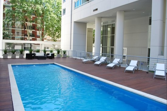 Buenos Aires Gay Bed and Breakfast: Palermo Uno Swimming Pool