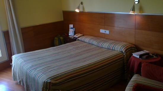 Nord Gironi Hotel: cama muy comoda