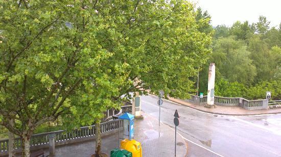 Nord Gironi Hotel: vista desde la habitacion 221