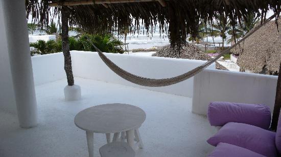 Hotel Azucar: Our terrace