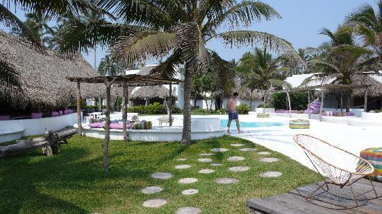 Monte Gordo, Mexico: The pool