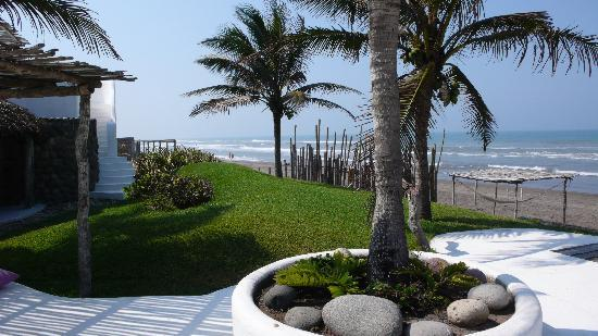 Monte Gordo, Mexico: View from of the Beach front
