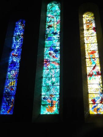 Church of Our Lady (Fraumunster): le vetrate