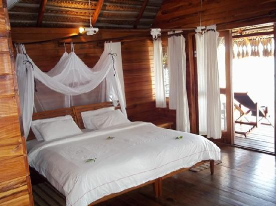 Inhambane Province, Mozambique: Our room