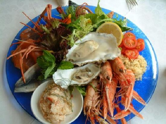 The Summer Isles Hotel and Restaurant: Fresh from loch Tain - our Signature Seafood Platter
