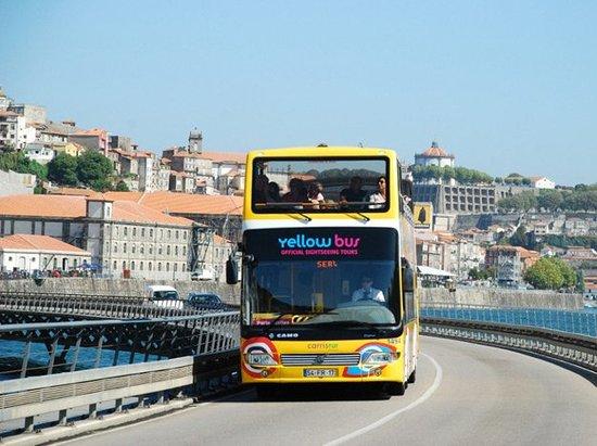 yellow bus tours oporto