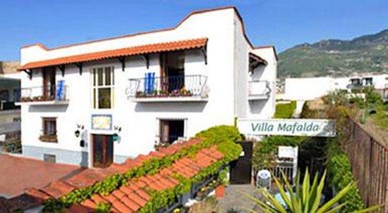 Pensione Villa Mafalda: facciata anteriore