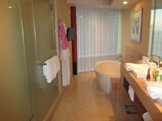 Corner Suite Bathroom Picture Of Aria Resort Amp Casino