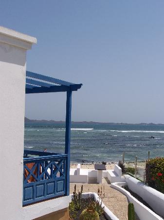 Las Gaviotas : vista dal balcone