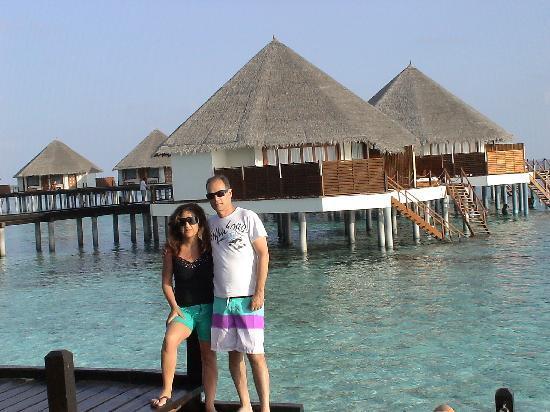 Adaaran Prestige Water Villas: Shlomi & Orly