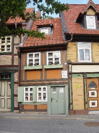 das älteste Haus in Wernigerode