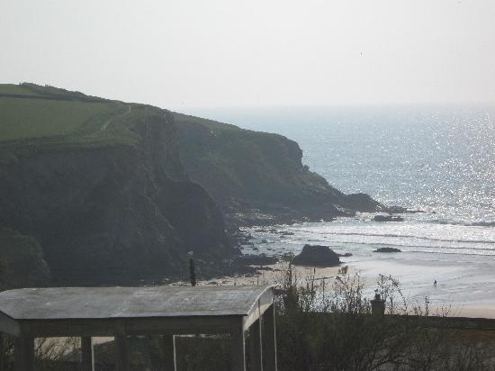 Bedruthan Hotel & Spa: view from room