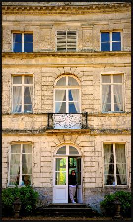 Front door Le Chateau de Grand Rullecourt