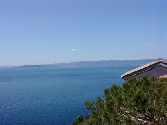 La Bourdonniere: la mer mediterane chaude