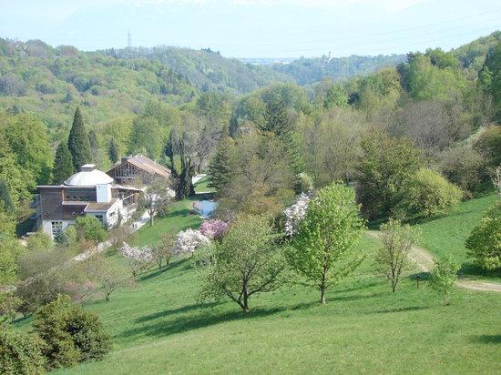 l'Arboretum National du Vallon de l'Aubonne