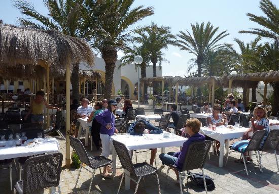Club Marmara Zahra : terrasse restaurant sherazade