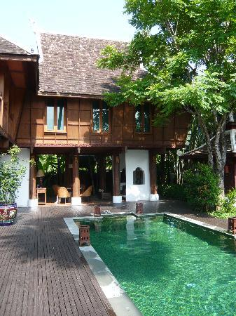 The Dhara Dhevi Chiang Mai: Haus mit Pool