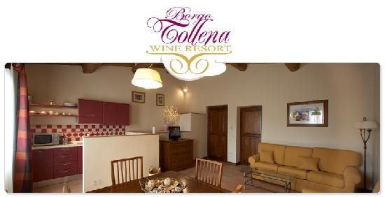 Borgo Tollena: Rosa di Sera Apartment