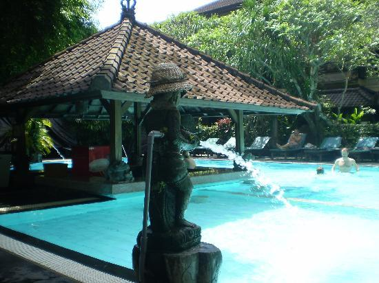 Hotel Puri Bambu: Pool bar,  can order there not made there