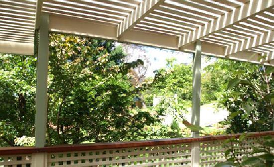 Fairway Lodge: Veranda