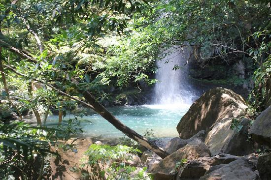 El Sol Verde Lodge & Campground: Cangreja Waterfall