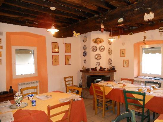 Agriturismo Locanda del Papa: Dining room