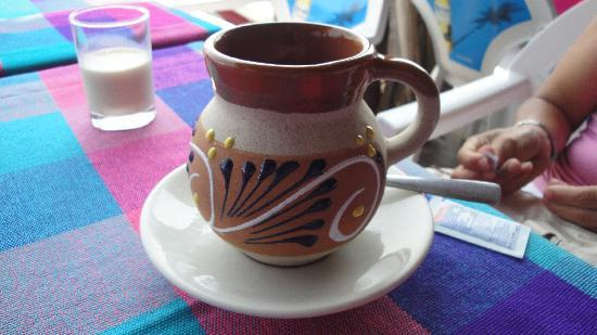 Acapulco Rosie's Tours: coffee at lunch break tour