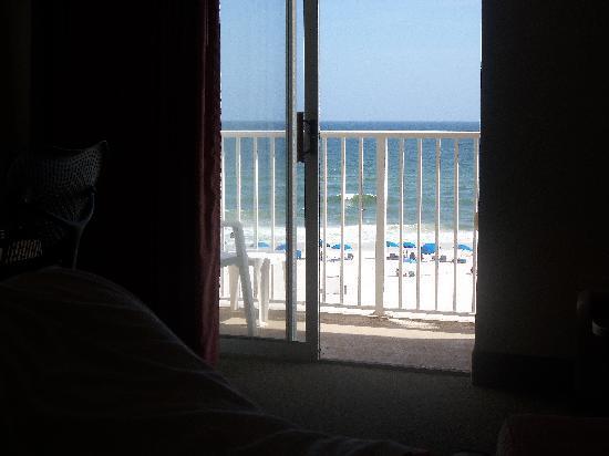 Hilton Garden Inn Orange Beach: View from the gulf front rom